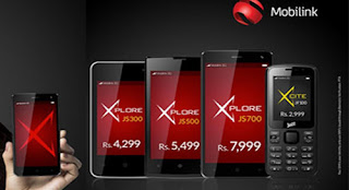 Mobilink Jazz X Feature Phone & Lates 3G Smartphones 2016