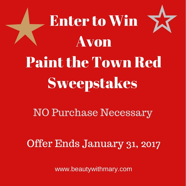 Avon Sweepstakes January 2017