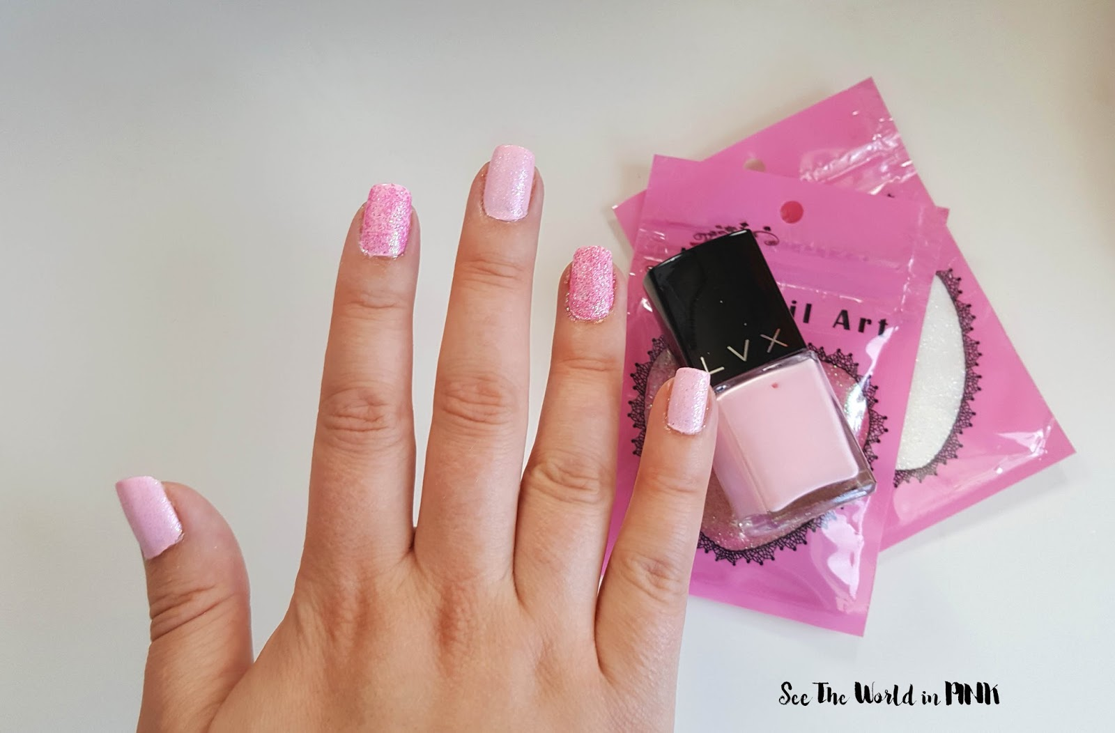 Manicure Monday - Mermaid Nail Powders!