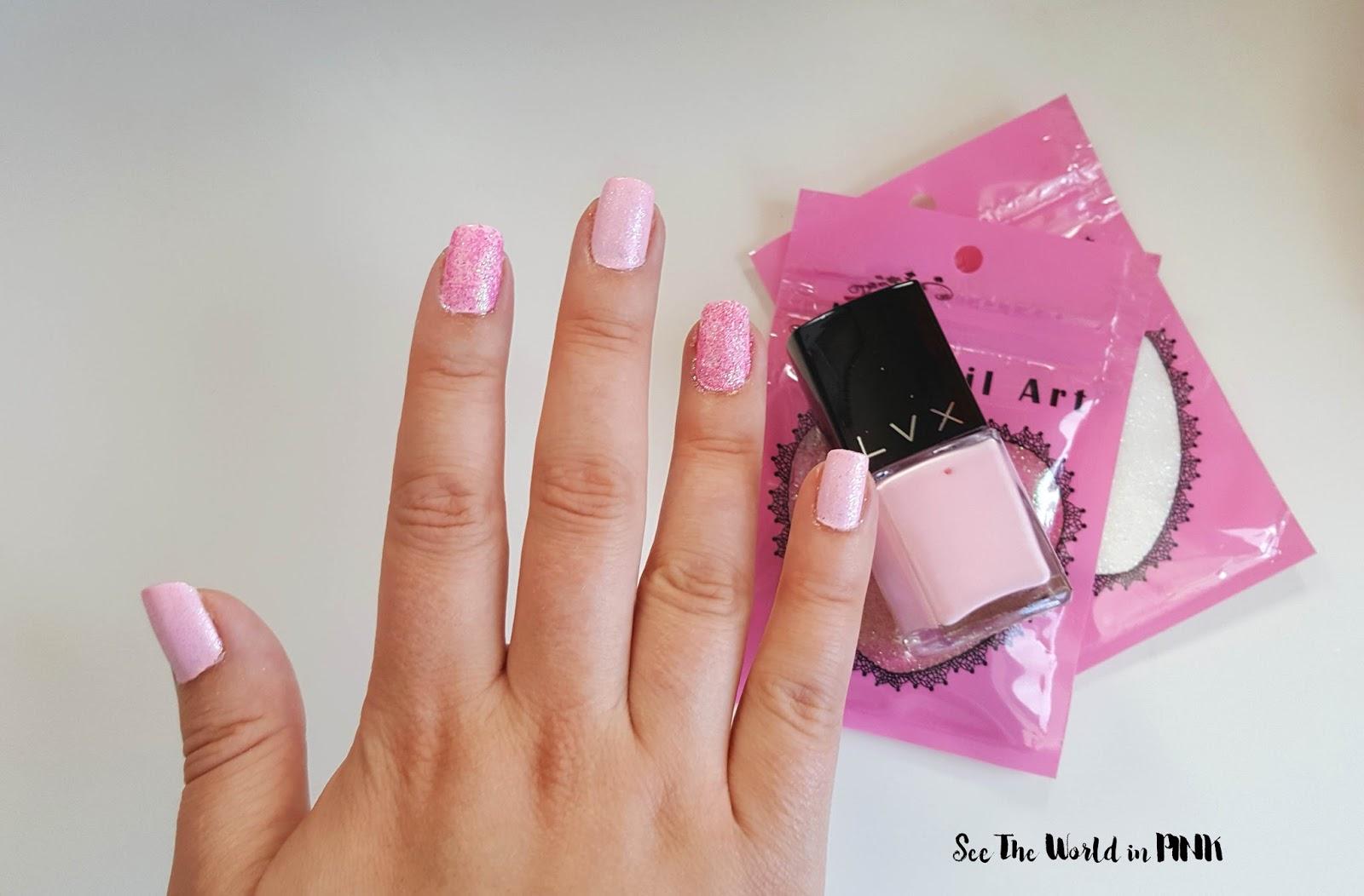 Manicure Monday - Mermaid Nail Powders!