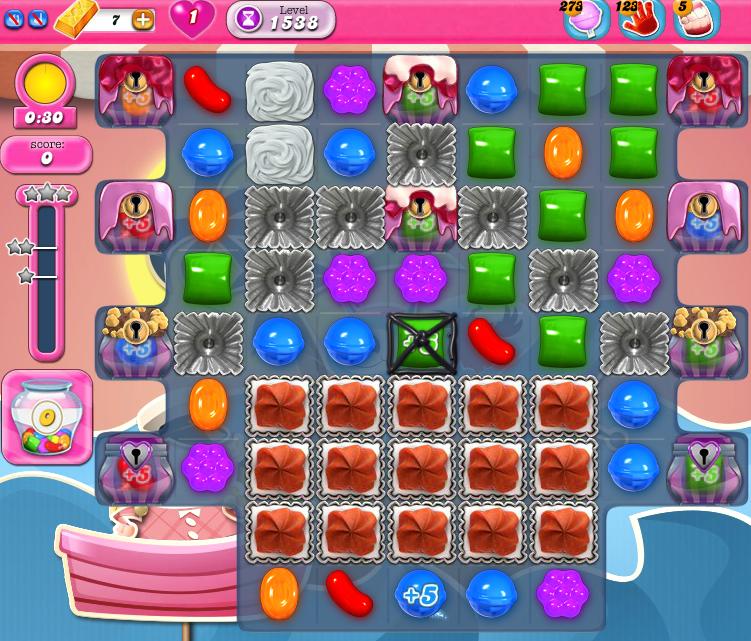 Candy Crush Saga 1538