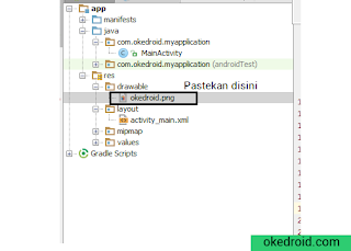 File resource drawable di Android Studio