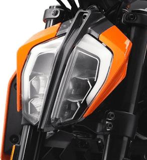 KTM 390 DUCK LED Head Lamp