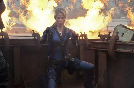 Sienna Guillory como Jill Valentine en Resident Evil Retribution