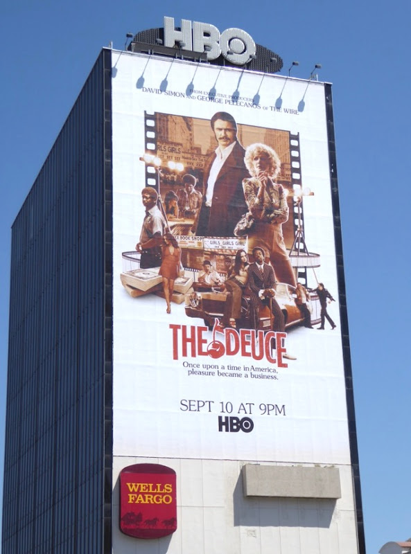 Deuce giant series premiere billboard