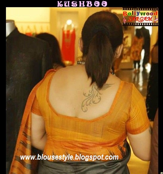 back neck blouse with kushboo jackpot blouses