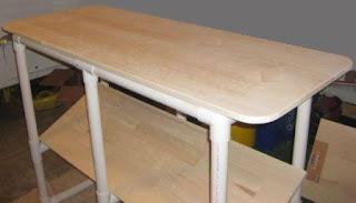 tutorial Meja susun atau rak dari pipa pvc