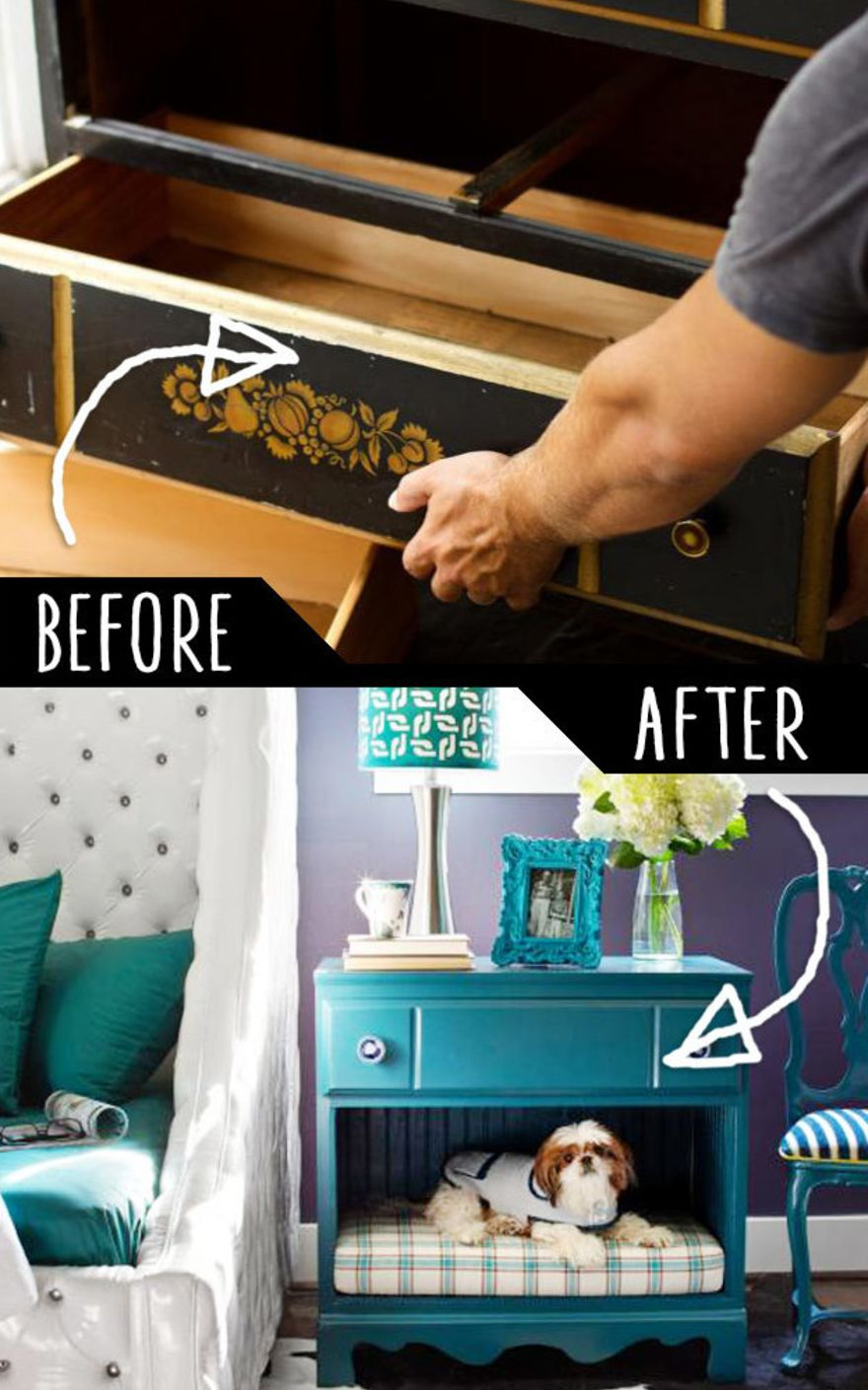 17 Super Clever Ways To Upcycle Old Furniture Handy Diy