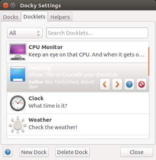 docky dock app on ubuntu