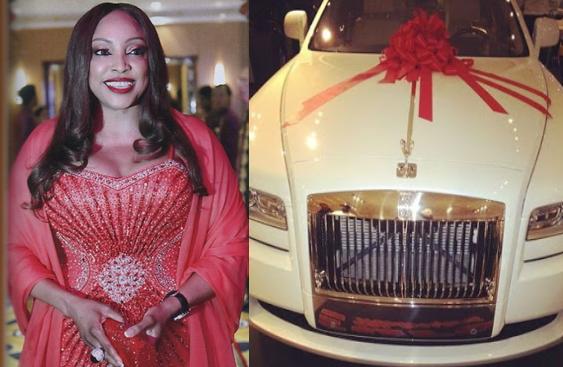 fifi ejindu N30 million rolls royce car birthday gift
