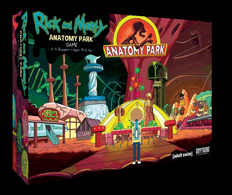 Habra Dos Nuevos Juegos De Mesa De Rick Morty Condedados