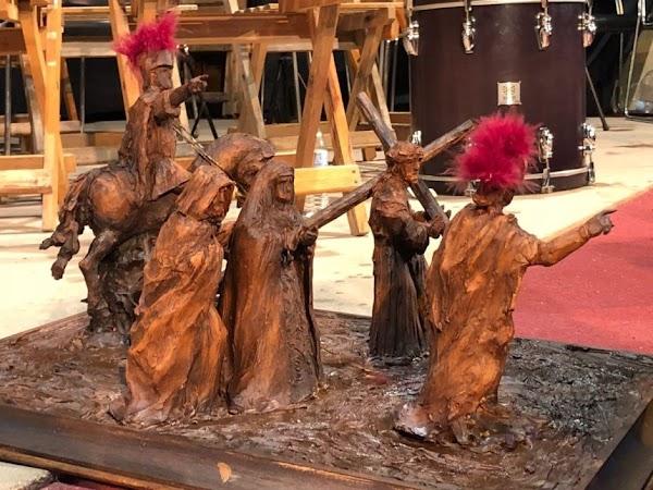 El Rocío de Pasión de Cabra presentará los bustos de las nuevas figuras secundarias del misterio