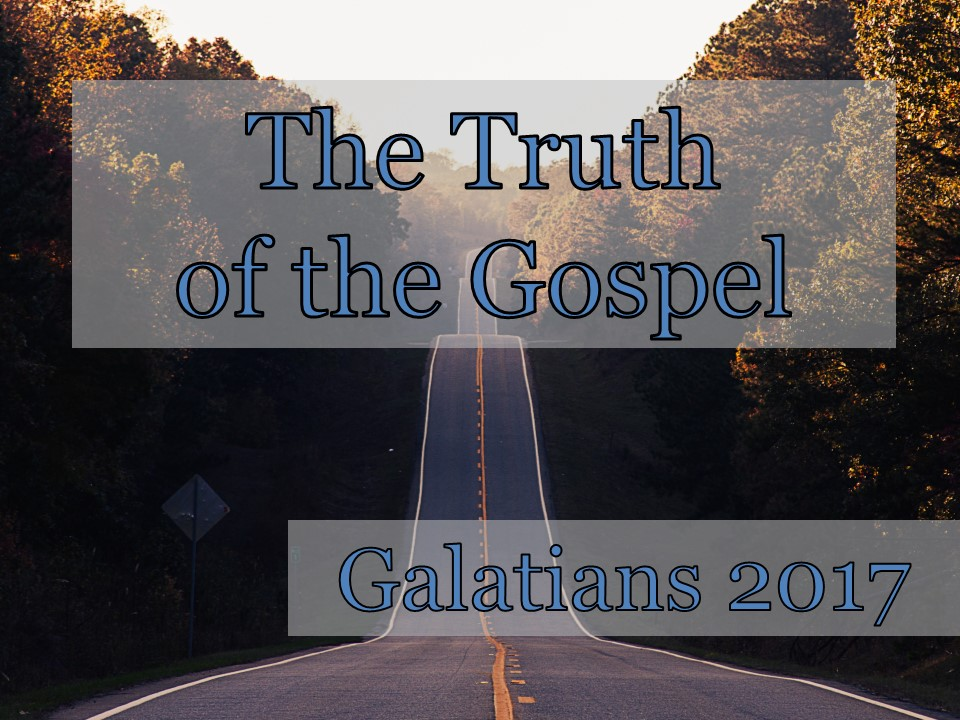 an analysis of the gospel of galatians Bible commentaries expository notes of rhetorical analysis of the book of galatians , part2 severity of his language in condemning the counterfeit gospel.
