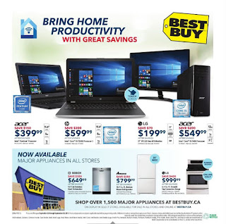 Best Buy Flyer Weekly - Bring Home Big Savings valid september 22 - 28, 2017