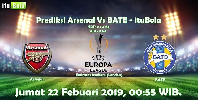 Prediksi Arsenal Vs BATE - ituBola