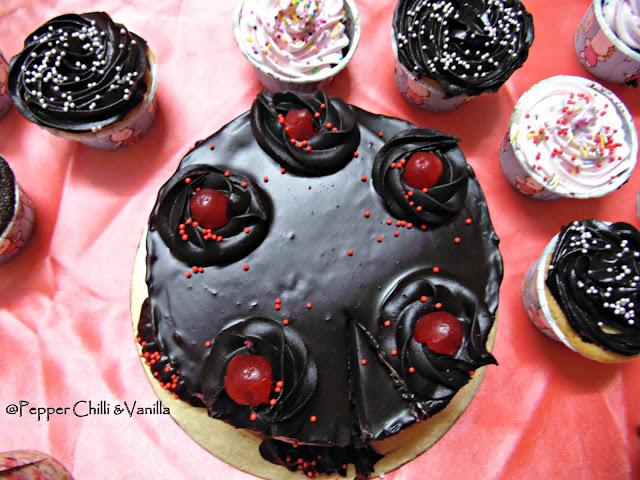 moist chocolate birthday cake