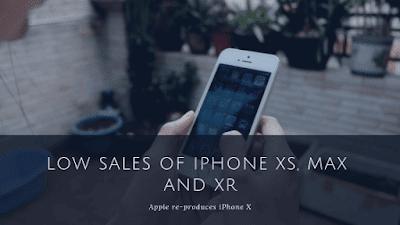 ابل تخفض انتاج هواتف ايفون اكس اس وماكس واكس ار لضعف مبيعاتها