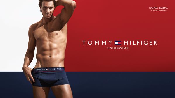 Rafa Nadal se desnuda para Tommy Hilfiger