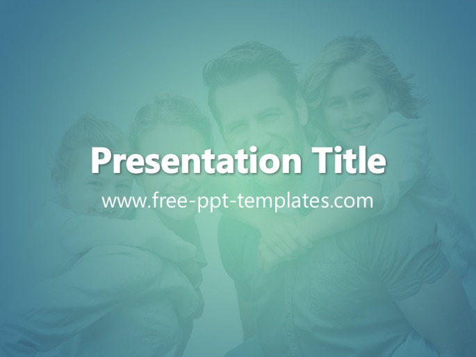 family ppt template