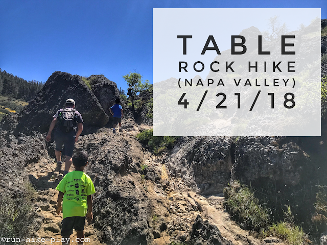 Table Rock (Napa Valley) Hike 4/21/18