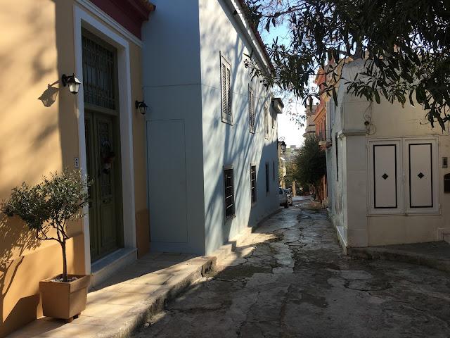 Anafiotika strada goala