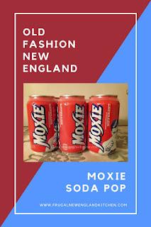 Moxie Soda Pop