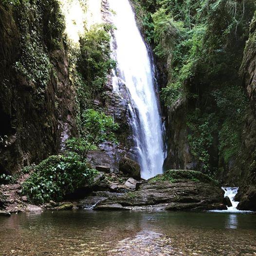 Cachoeira Queda do Meu Deus em Eldorado-SP