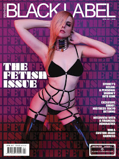 Penthouse Australia Black Label - Abril 2017 PDF Digital