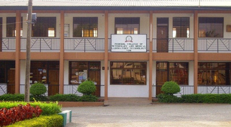 Federal College of Veterinary and Medical Laboratory Technology (FCVMLT) admission form
