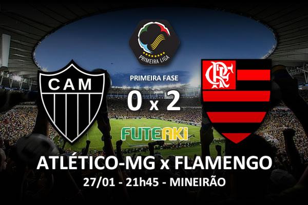 Veja o resumo da partida com os gols e os melhores momentos de Atlético-MG 0x2 Flamengo pela 2ª rodada da Copa Sul-Minas-Rio 2016.