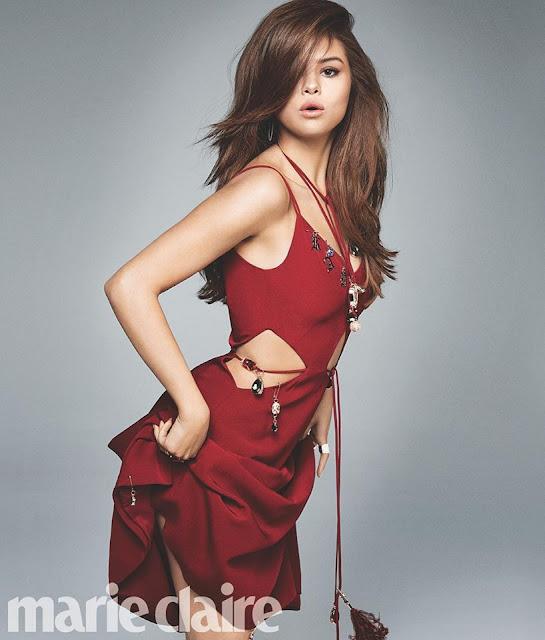"""Selena Gómez es la portada de la revista """"Marie Claire"""" (FOTOS + ENTREVISTA)"""