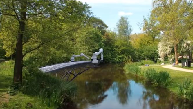 El primer puente impreso en 3d