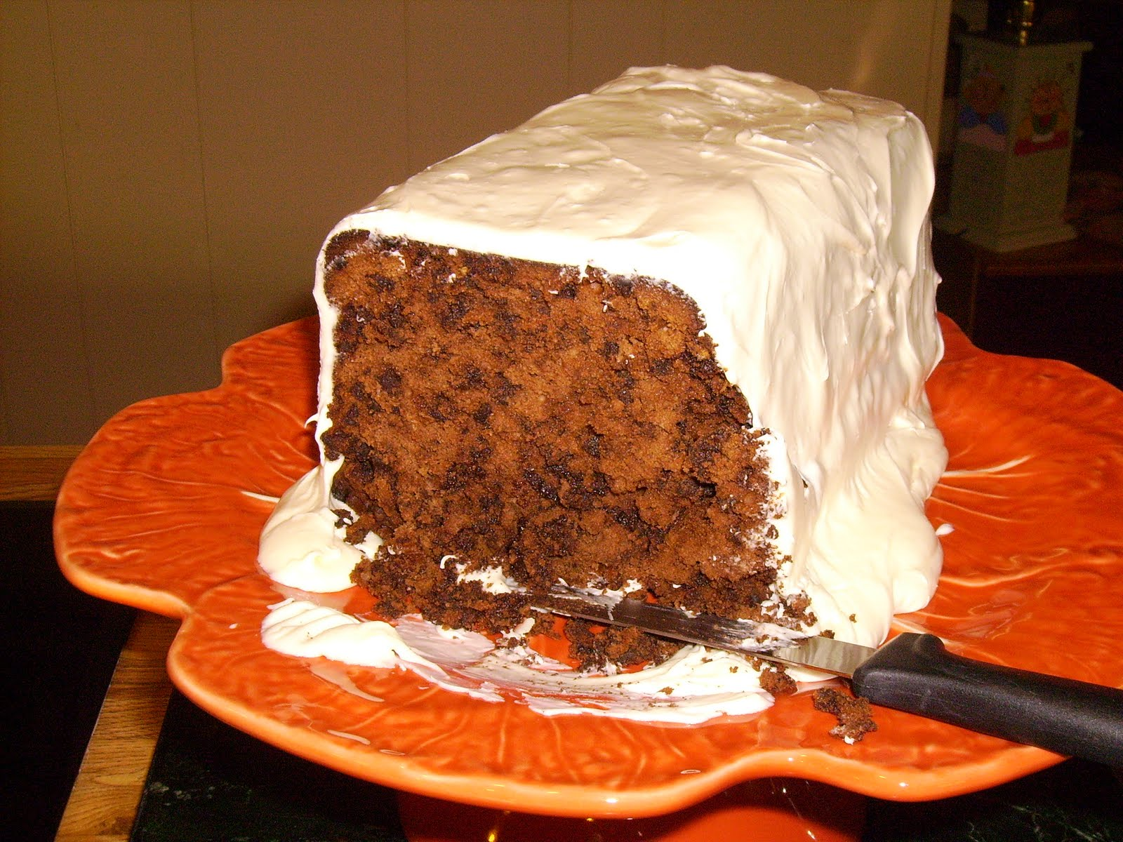 Flatrock Cabin Triple Chocolate Poundcake