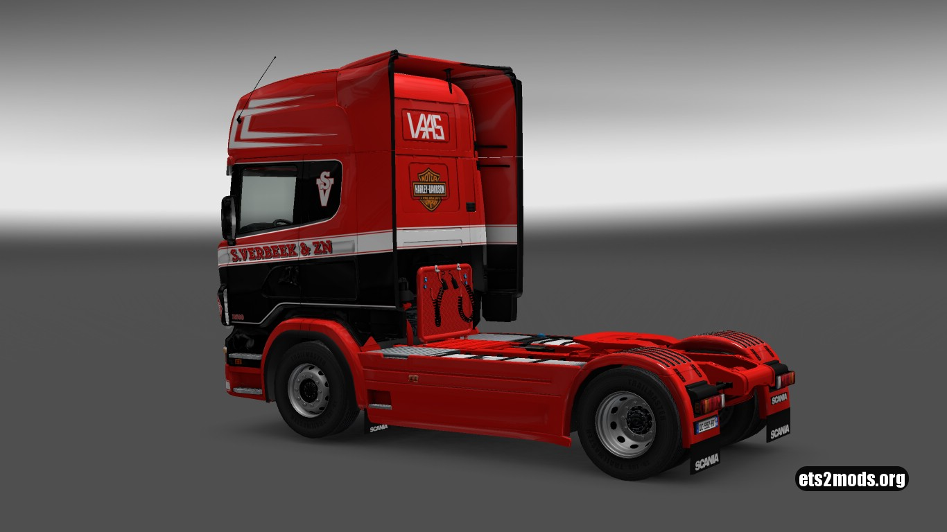 Scania RJL S.Verbeek Skin