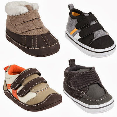 Valcro Walking Boots Shoes