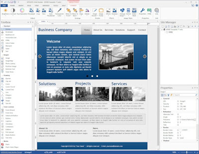 Screenshot WYSIWYG Web Builder 12.4.0 Full Version