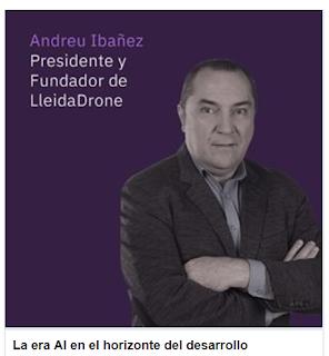 Como LleidaDrone presentaré las tendencias en desarrollo con AI en el IBM Watson Summit de Madrid