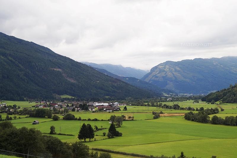 Urlaub im Lungau, Österreich, im September: Überblick übers Tal