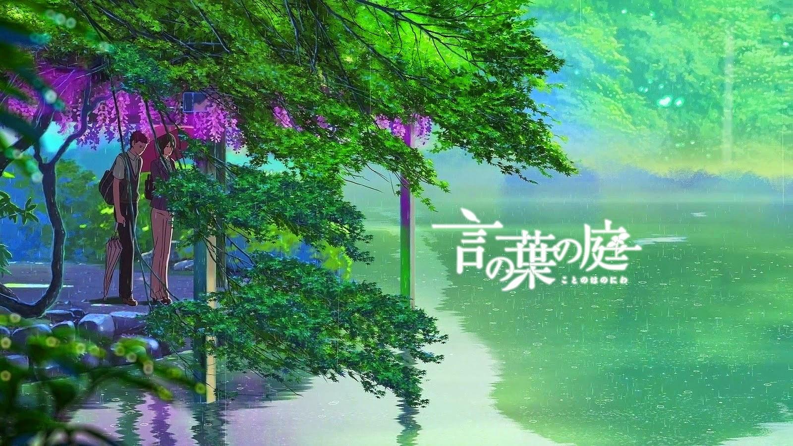 Kotonoha no niwa pelicula avi mega for El jardin de las palabras filmaffinity