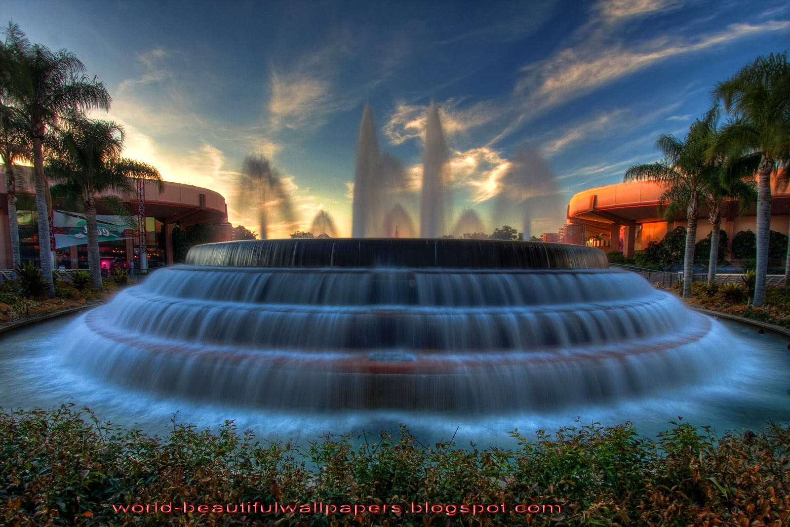 Beautiful Wallpapers: Most Beautiful Fountains