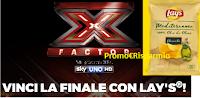 Logo Con Lay's vinci la finalissima di X-Factor