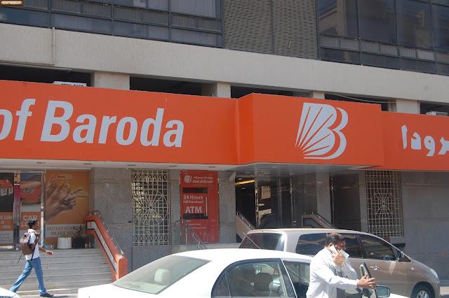 bank of baroda bur dubai branch number