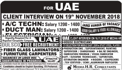 Jobs in UAE Assignment Abroad Times Jobs