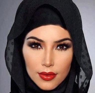 jilbab ala kim kardhasian