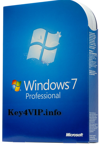 Bán key bản quyền Windows 7 Professional