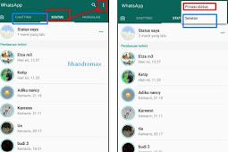 Cara Menyembunyikan Kontak Whatsapp Kita