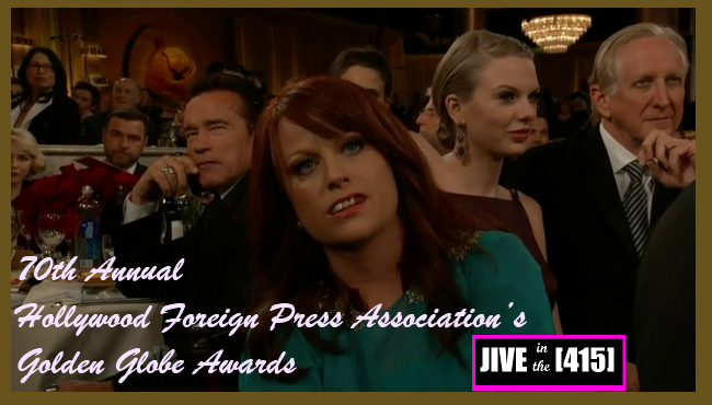 The 70th Annual Hollywood Foreign Press Association Golden Globe Awards Jan 13, 2013