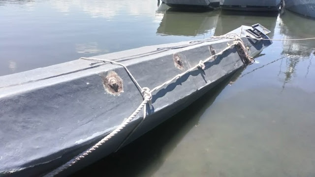 Decomisan dos toneladas de cocaína en un 'narcosubmarino' en El Salvador