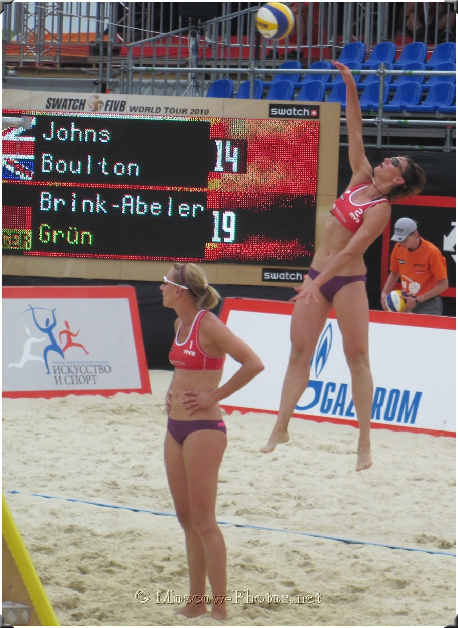 Beach Volleyball Power Serve