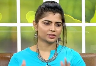 Virundhinar Pakkam Sun Tv Playback Singer Chinmayi